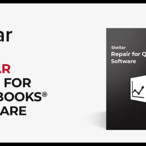 How to Repair Damaged QuickBooks Data File Using Stellar Repair for QuickBooks Software