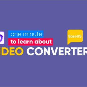EaseUS Video Converter
