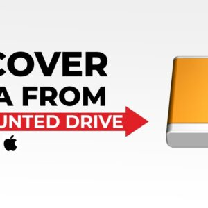 Free recover data from unmounted external hard drive on macOS Big Sur and others