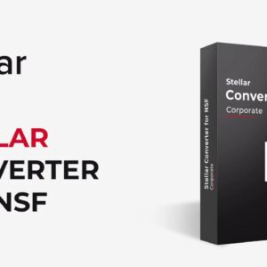 How to Convert NSF to PST with Stellar Converter for NSF