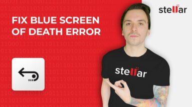 How to Fix Blue Screen of Death [BSOD] Error in Windows 10 (Tutorial)