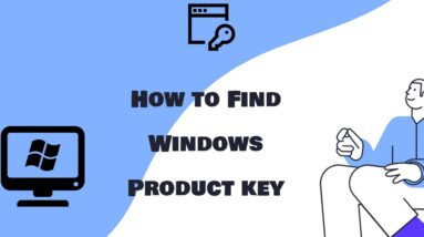 How to Find Windows 11/10/8/7/XP/Server Product Key with Windows Product Key Finder