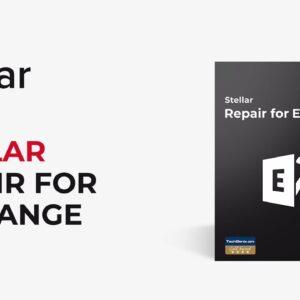 Le logiciel Stellar Repair for Exchange - réparer les bases de données Exchange corrompues
