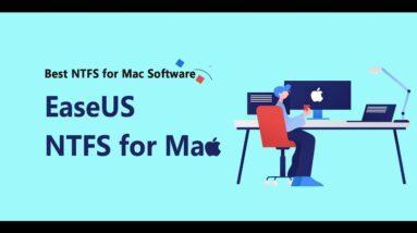 EaseUS NTFS for Mac - Read and Write NTFS Drives on Mac Without Formatting